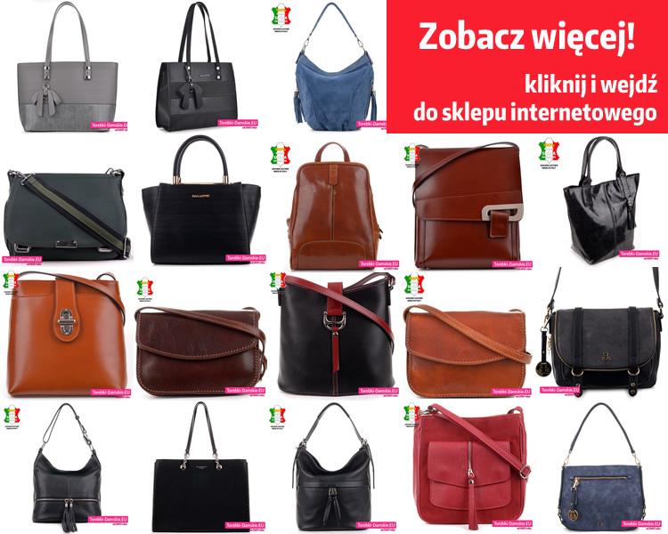 Nowa kolekcja torebek damskich na sezon jesień 2020 w różnych barwach i fasonach